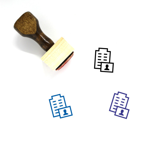 CEO Wooden Rubber Stamp No. 29