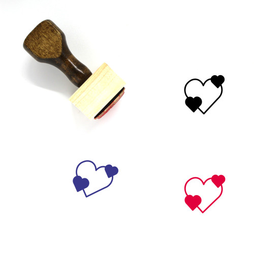 Love Wooden Rubber Stamp No. 622
