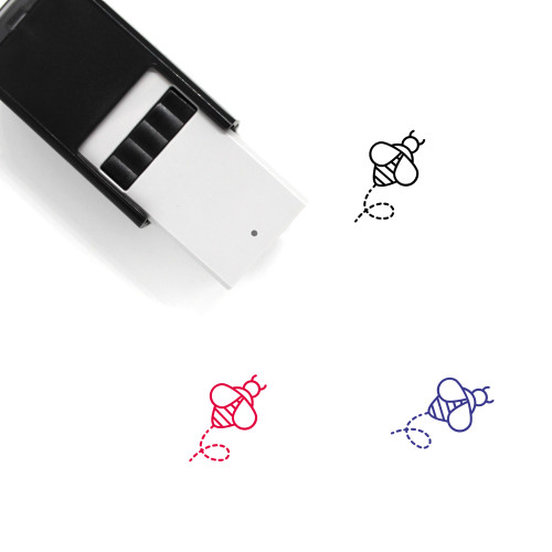 Bee Self-Inking Rubber Stamp No. 33