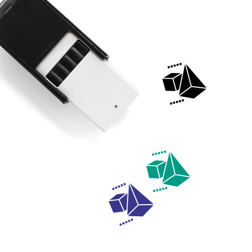 3D Model Self-Inking Rubber Stamp No. 11