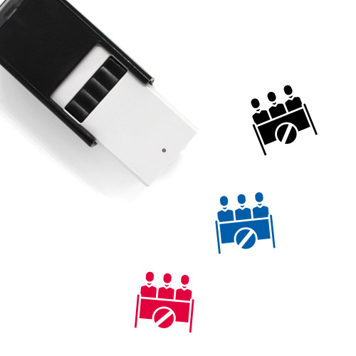 Opponent Self-Inking Rubber Stamp No. 2