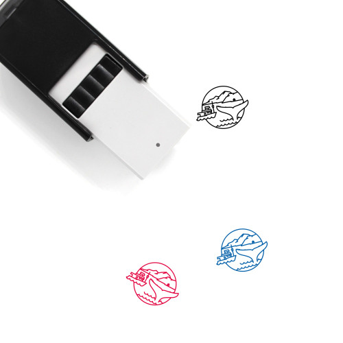 Iceland Self-Inking Rubber Stamp No. 15