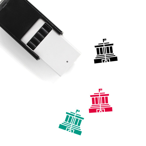 Ho Chi Minh Self-Inking Rubber Stamp No. 1