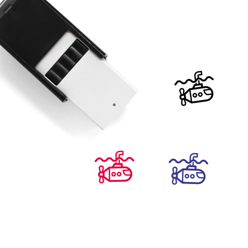 Submarime Self-Inking Rubber Stamp No. 1