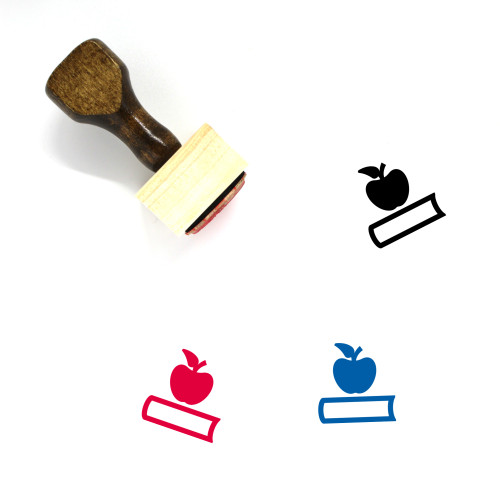 Education Wooden Rubber Stamp No. 149