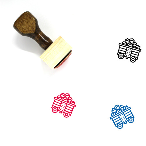 Coal Energy Wooden Rubber Stamp No. 2