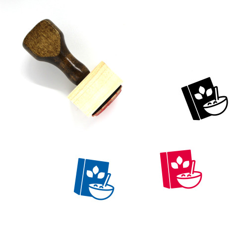 Cereal Wooden Rubber Stamp No. 39