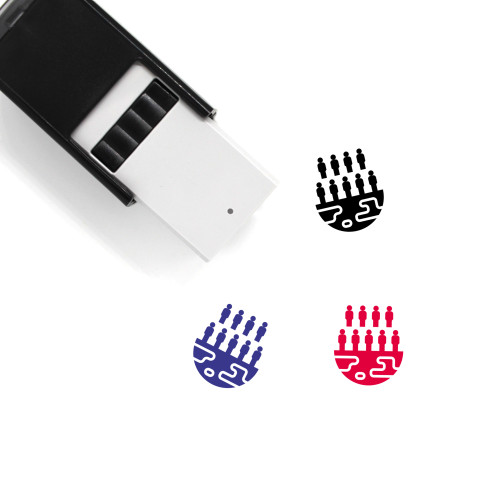 Population Self-Inking Rubber Stamp No. 31