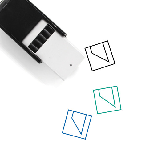 Abstract Self-Inking Rubber Stamp No. 47