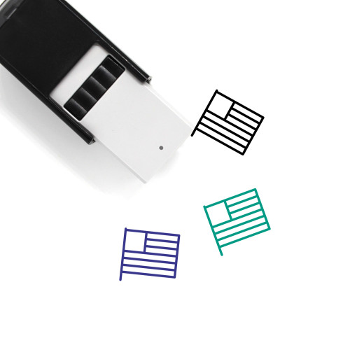 United States Self-Inking Rubber Stamp No. 89