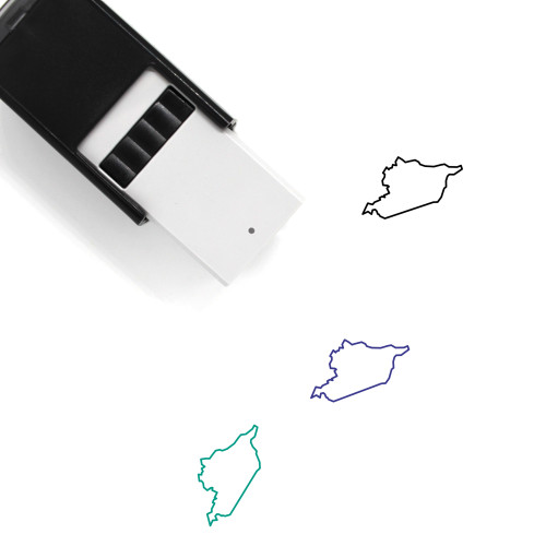 Syria Self-Inking Rubber Stamp No. 12