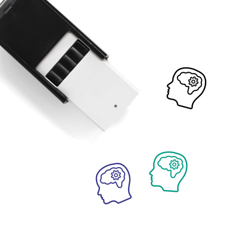 Intellect Self-Inking Rubber Stamp No. 25