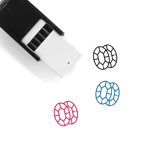 Jewels Self-Inking Rubber Stamp No. 20