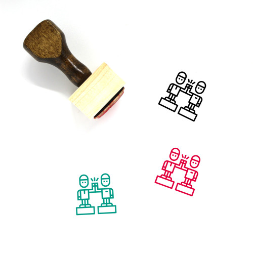 High Five Wooden Rubber Stamp No. 41