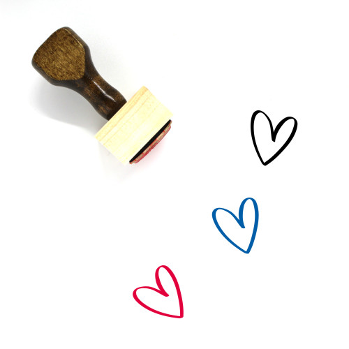 Love Wooden Rubber Stamp No. 629
