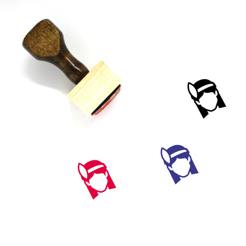Indian Wooden Rubber Stamp No. 16
