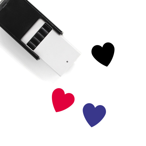 Heart Self-Inking Rubber Stamp No. 1482