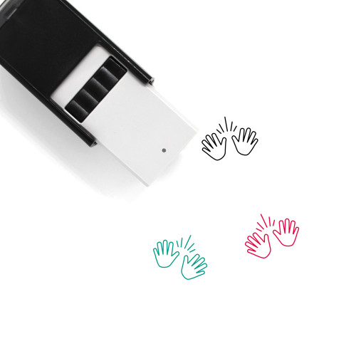 Jazz Hands Self-Inking Rubber Stamp No. 1