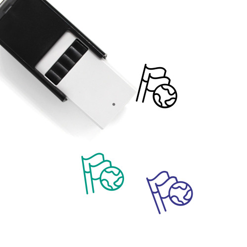 Global Achievement Self-Inking Rubber Stamp No. 2