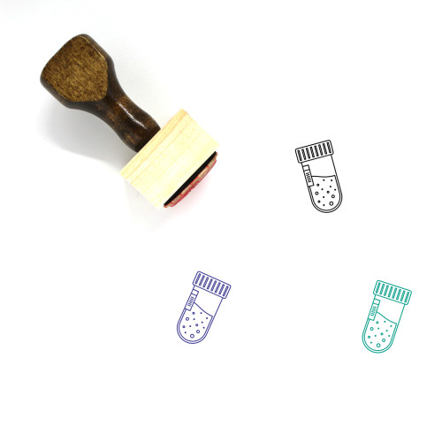 Sample Wooden Rubber Stamp No. 15