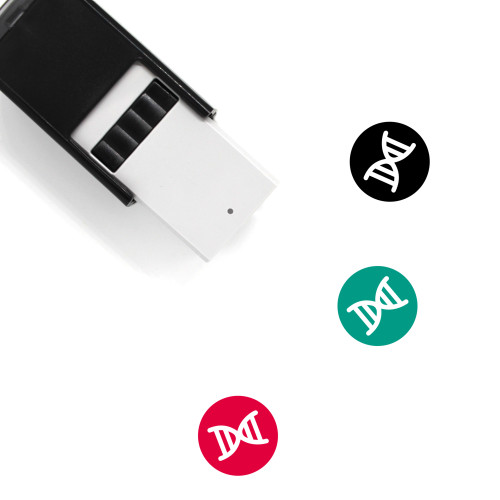 DNA Self-Inking Rubber Stamp No. 154