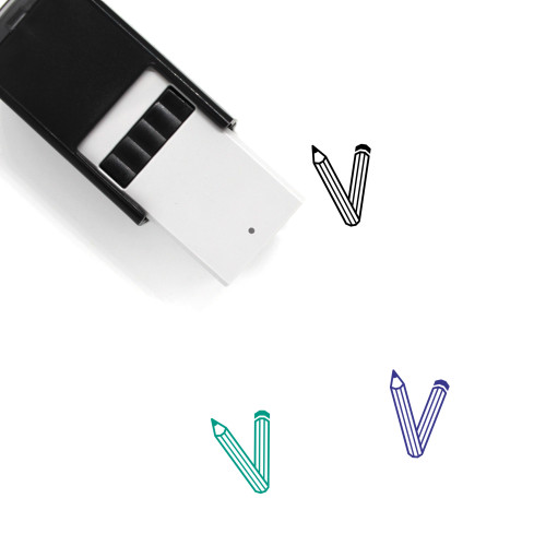 Vicons Design Self-Inking Rubber Stamp No. 1