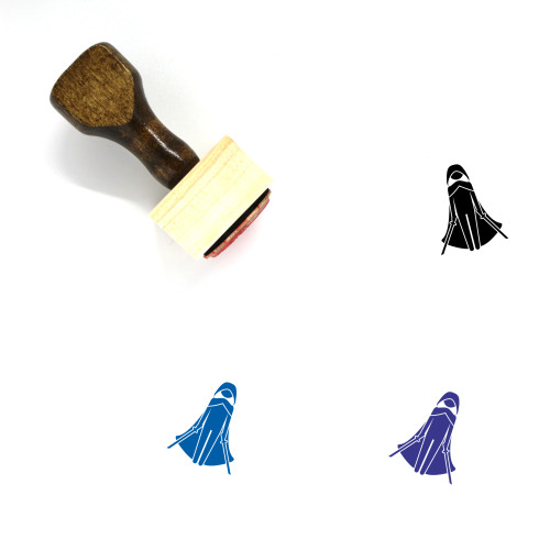 Cosplay Wooden Rubber Stamp No. 1