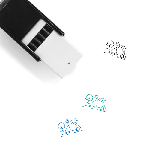 Hill Self-Inking Rubber Stamp No. 27