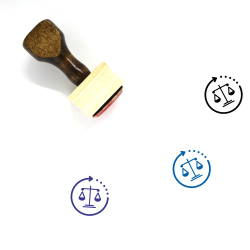 Law Wooden Rubber Stamp No. 270