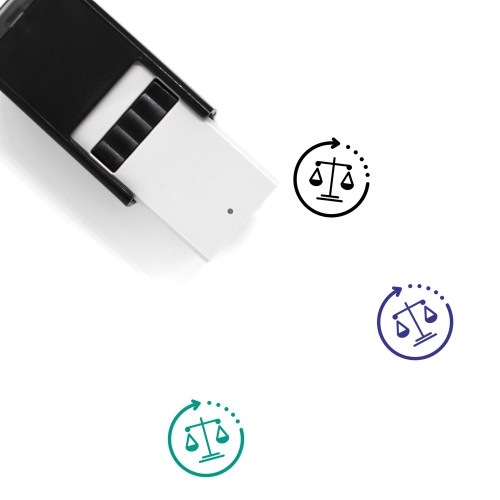 Law Self-Inking Rubber Stamp No. 270