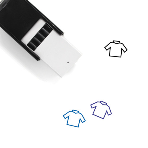 Clothes Self-Inking Rubber Stamp No. 178