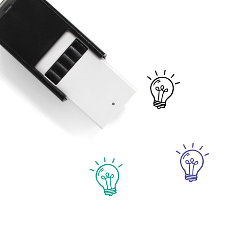 Bulb Self-Inking Rubber Stamp No. 137