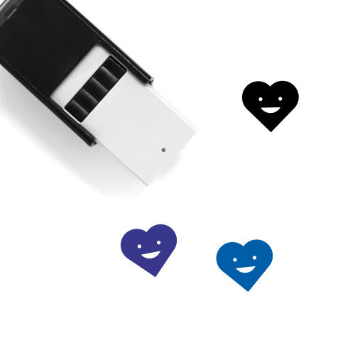 Heart Self-Inking Rubber Stamp No. 1483