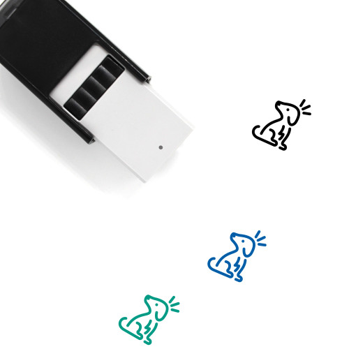 Dog Self-Inking Rubber Stamp No. 159