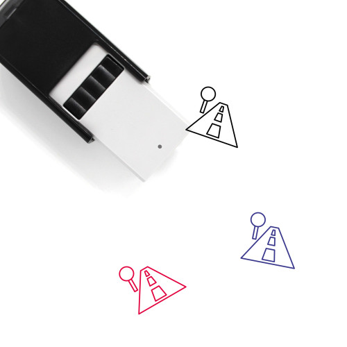 Street Self-Inking Rubber Stamp No. 12