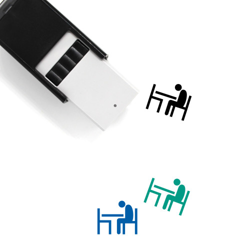Loneliness Self-Inking Rubber Stamp No. 2