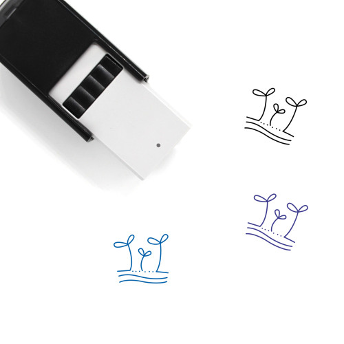 Sprouts Self-Inking Rubber Stamp No. 8