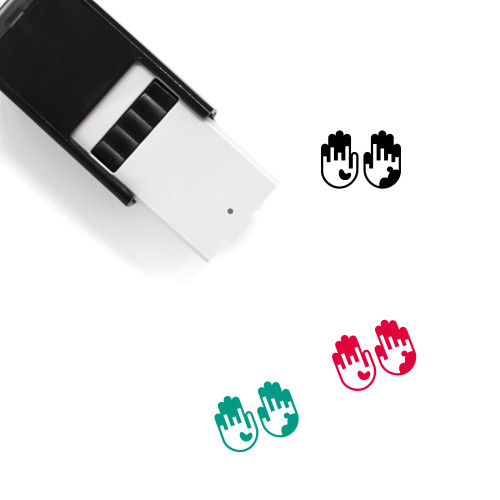 Dirty Hands Self-Inking Rubber Stamp No. 2