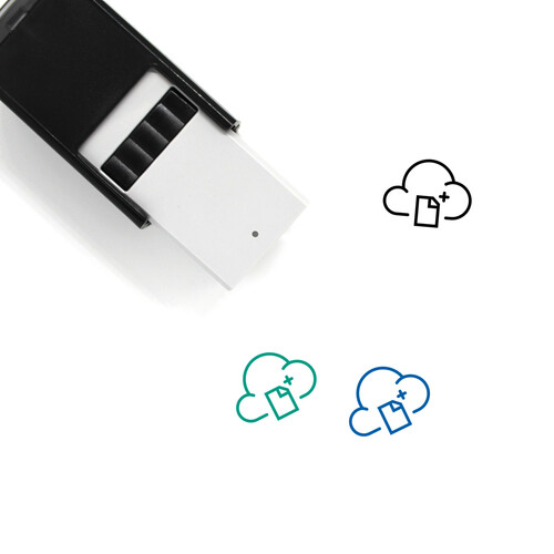 Cloud Document Self-Inking Rubber Stamp No. 40