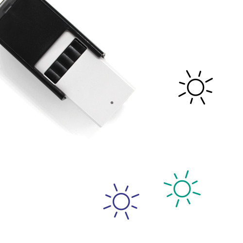 Sun Light Self-Inking Rubber Stamp No. 5