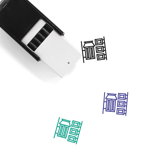 China Town Self-Inking Rubber Stamp No. 1