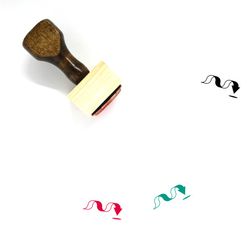 Arrow Wooden Rubber Stamp No. 1068
