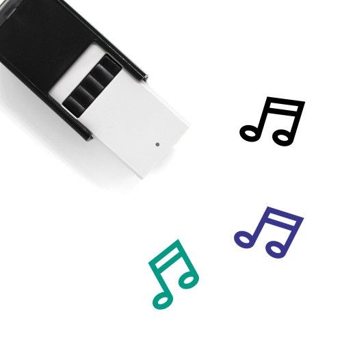 Music Self-Inking Rubber Stamp No. 147