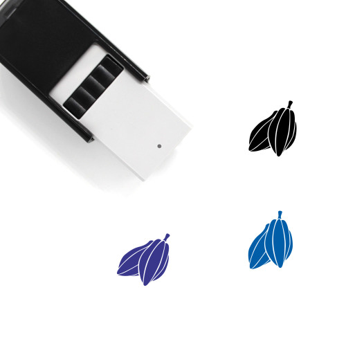 Cocoa Beans Self-Inking Rubber Stamp No. 2