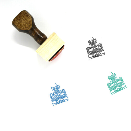 University Of Toronto Wooden Rubber Stamp No. 1