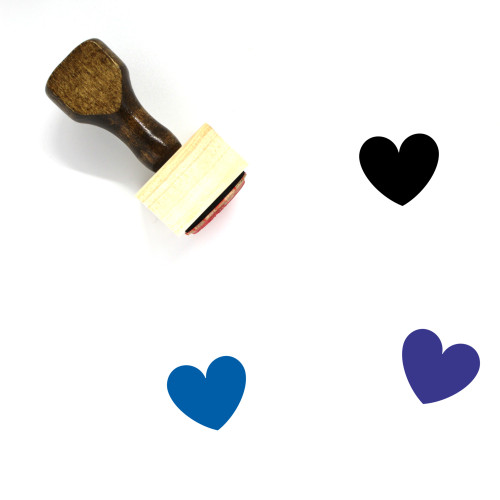 Love Wooden Rubber Stamp No. 636