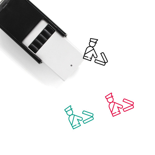 Customs Self-Inking Rubber Stamp No. 8