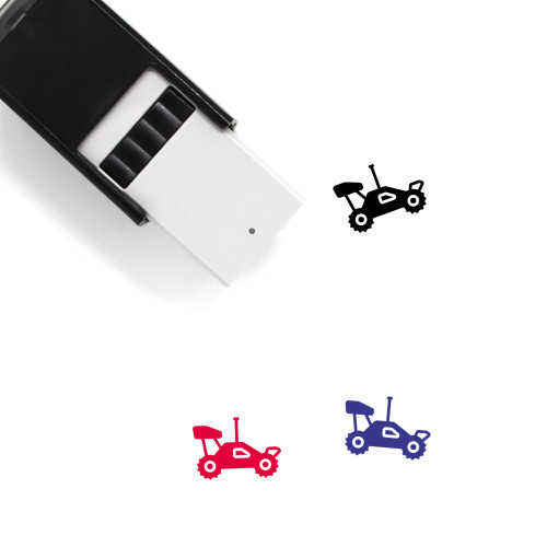 Remote Control Car Self-Inking Rubber Stamp No. 1