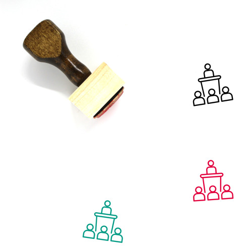 Conference Wooden Rubber Stamp No. 49