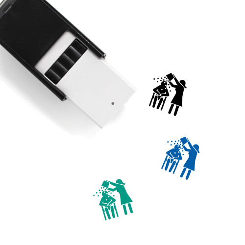Ice Bucket Challenge Self-Inking Rubber Stamp No. 5